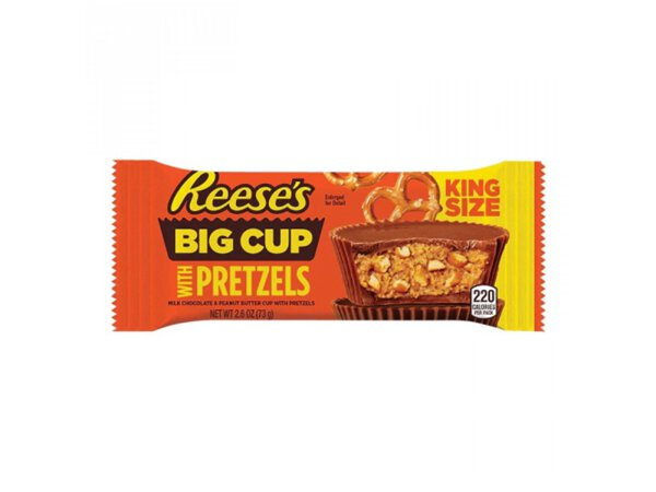 Reeses Big Cup with Pretzels King Size 73g