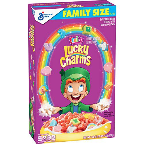 Lucky Charms Fruity Family Size 601g