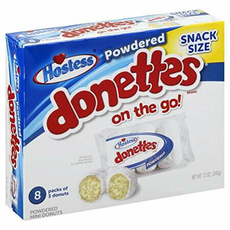 Hostess Powdered Donettes on the go! 340g
