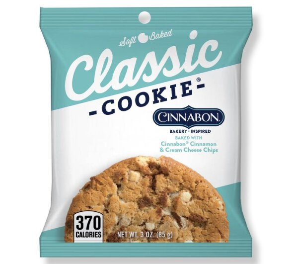 Classic Cookie – Cinnamon and Cream Cheese Chips Cookie 85g