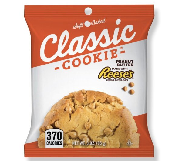 Classic Cookie – Peanut Butter with Reese's Peanut Butter Chips Cookie 85g
