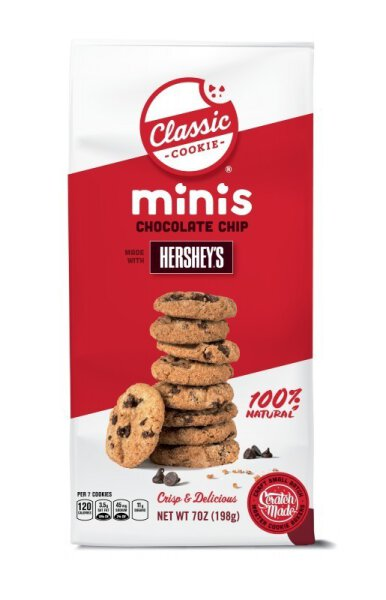 Classic Cookie – Chocolate Chip with Hershey's Mini Cookies 198g