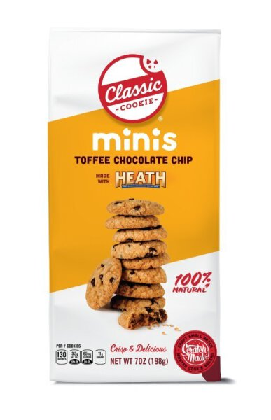 Classic Cookie – Toffee Chocolate Chip with Heath Mini Cookies 198g